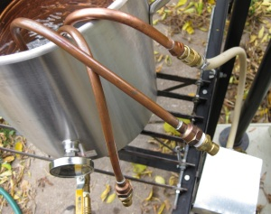 Inlet Hangling Outside Kettle