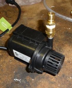 A 1.5A pond pump