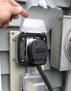 4 prong outlet