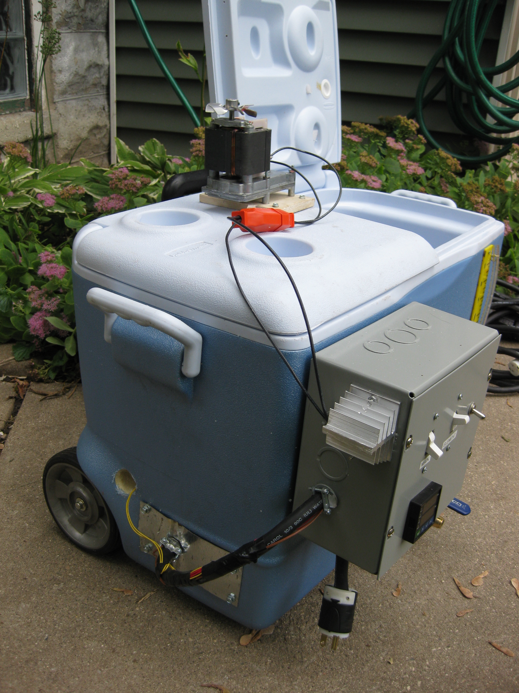 Electric Hlt Version 2 Grain By Dave Wire 240v Brew Pot Controller Home Forums Front Side View