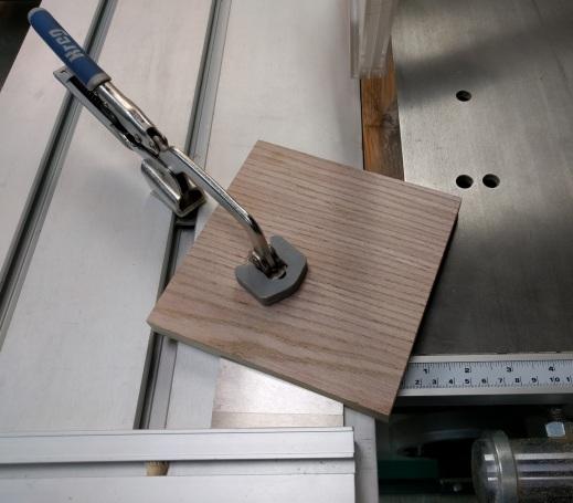 Setting up a 22.5° cut